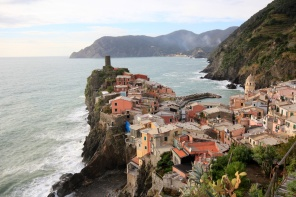 Vernazza from the south.